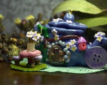 Small Teapot Fairy Home