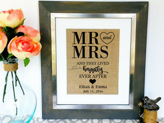Unique Personalized Wedding Gifts Couple : WEDDING Gift for Couples Engagement Gifts for Couples Unique Gift ...
