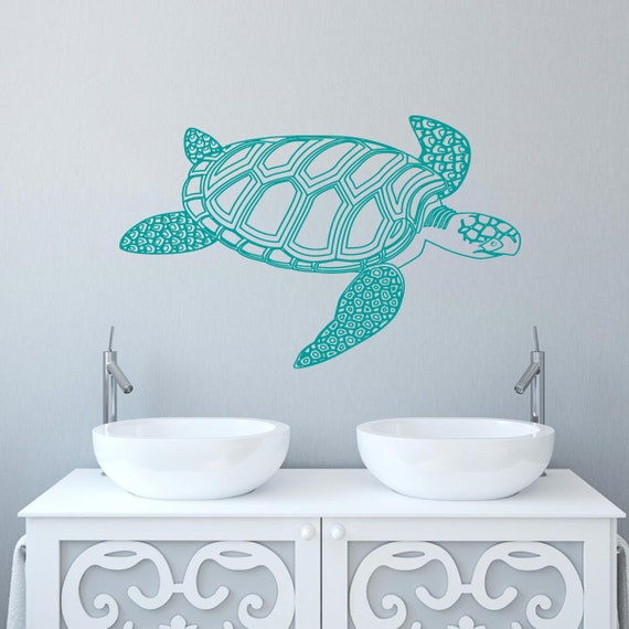 turtle wall decal tortoise vinyl sticker decals tortoiseshell teenage mutant ninja turtles raphael giant wall decal