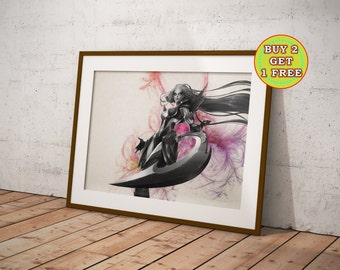 League of Legends, Diana, Lol Poster, League of Legends Poster, League of Legends Art, League of Legends Canvas,Gifts, OC-637