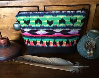 Southwestern Make Up Bag