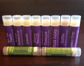 All Natural Lip Balms (3 pack)