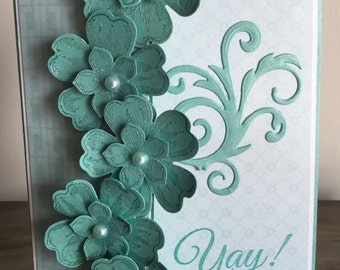 C14 Yah! It's your birthday!, Handmade cards, Birthday card