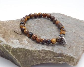 Tigers Eye Braclet Healing Crystal Gemstone Wellness love energy