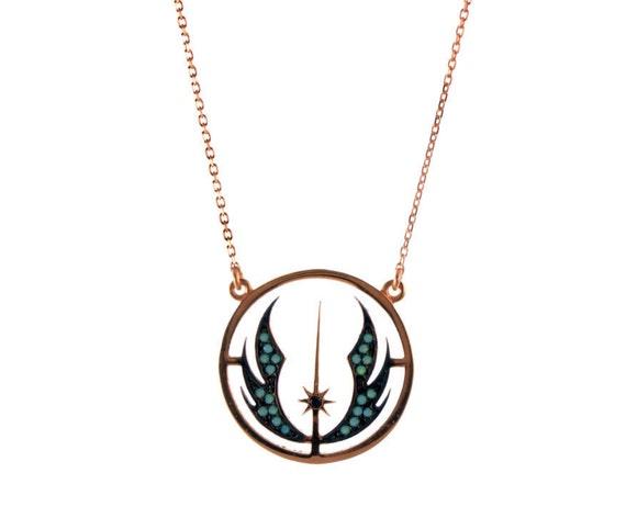 Rose Gold Star Wars Jewelry Jedi Jewelry Ideas