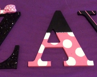 Minnie Mouse themed letter