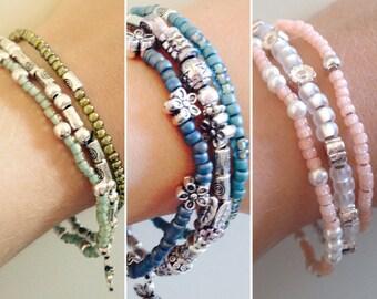 Delicate bracelet set