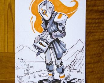 Custom commission (custom illustration)