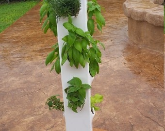 Vertical garden. The RocketFarm vertical garden from The Geek Garden.