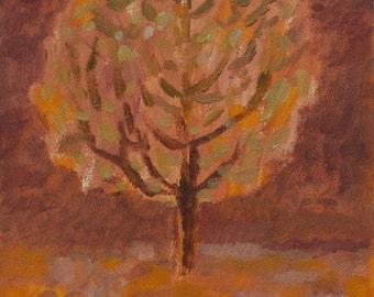Original Artwork, Autumn Tree