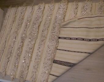 SALE Moroccan wedding blankter- Vintage handira