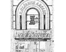 Reliance Arcade A3 size