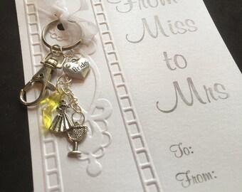 Miss to Mrs Key Ring
