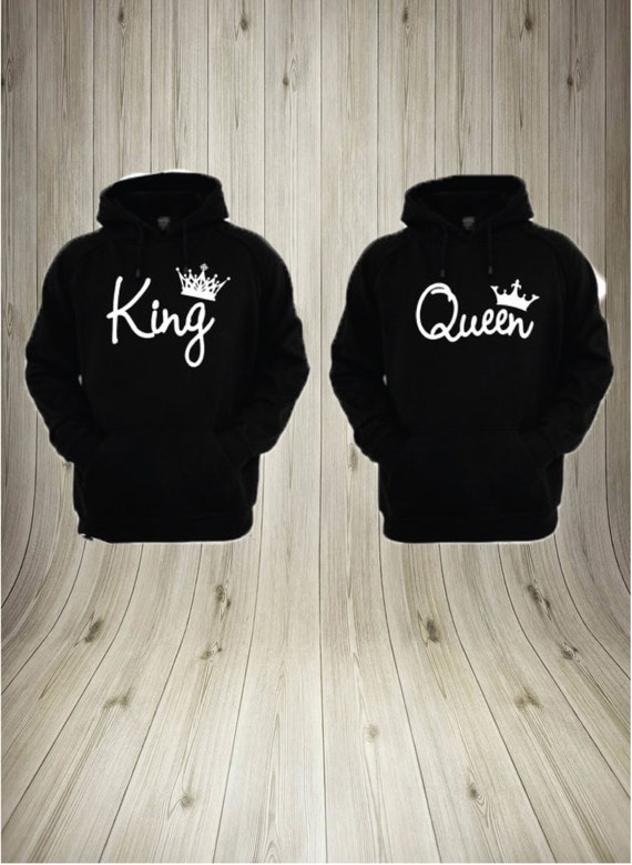 king and queen hoodies king and queen pullover by. Black Bedroom Furniture Sets. Home Design Ideas