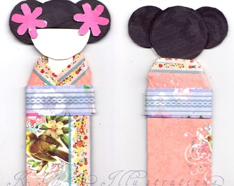 Geisha Bookmark