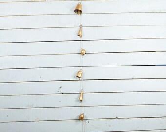 Copper Wind Chimes Bells Unique Chimes Porch Decor