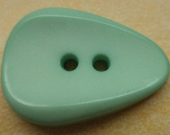 9 large BUTTONS light green 26mm (6574) button green coat buttons jacket buttons