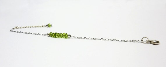 Peridot bracelet - Silver 925