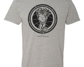 Long Neck Reese's Shirt- Hand Screen Printed- Short Sleeve T-Shirt
