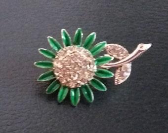 Small Sunflower Brooch