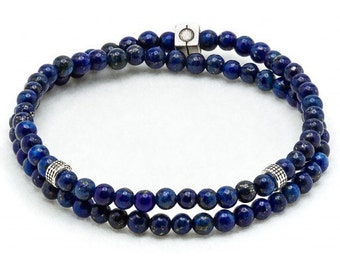 Double bracelet beads 4mm
