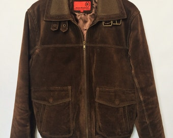 Dark Brown Suede Jacket