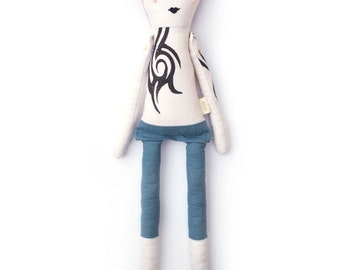 PRE-ORDER Anothony Cloth Doll: Handmade with eco-friendly materials