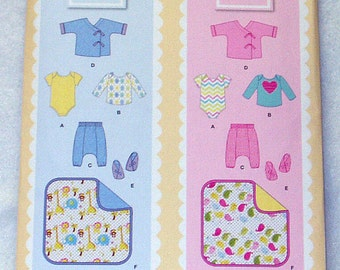 Simplicity Pattern Simply Baby 1330 A  Sizes XXS-L