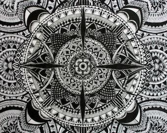 Mandala Tapestry Limited Edition Print