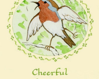 Cheerful Spring Greetings