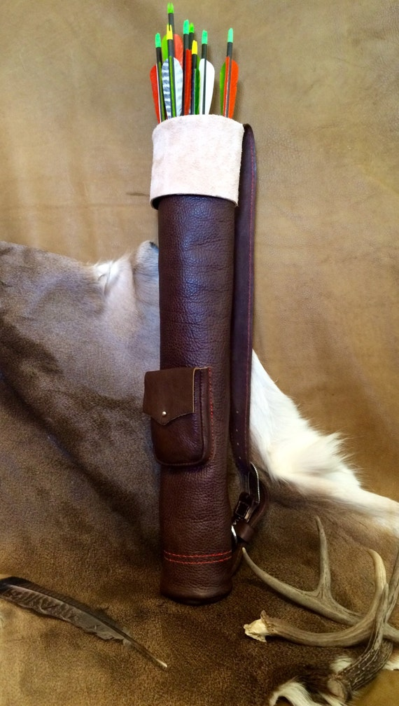 Enhanced Leather Archery Quiver