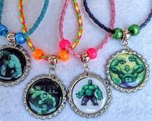 10 Pcs multicolor The Green Man Bracelets