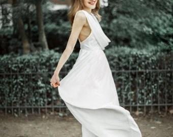 Elegant White Dress from chapter 1 : Curiosity