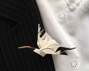 Whooping Crane Pin