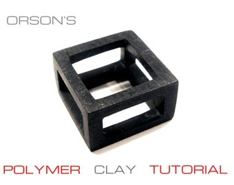 Orson's tutorial e-book polymer clay cuboids