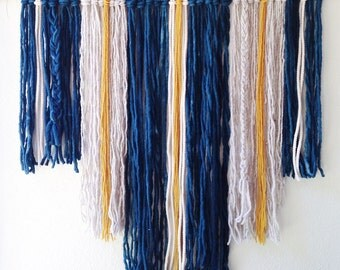 Blue & Gold Wall Hanging (Large)