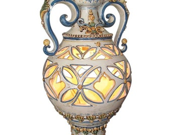 Multicolour lights lamp arabesque