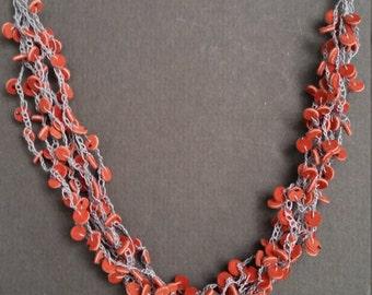 necklace of buckskin
