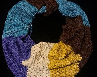 Crocheted Kerchief Scarf