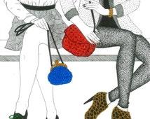 Accessories illustration