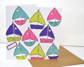 Just For you • by Love Candy Designs 'To The Seaside' Greeting Card