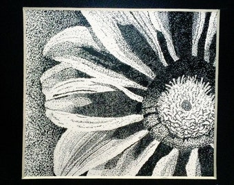 Stippling Flower