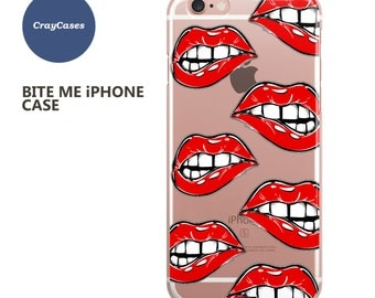 Lip Biting iPhone 6s Case Lip Biting iPhone 6s Plus Case Lip Biting iPhone 7 Case Lip Biting iPhone 6 Plus Case (Shipped From UK)