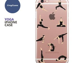 Yoga iPhone 6 Case, Yoga iPhone 6s Case, Yoga iPhone 7 Case, Yoga iPhone 6/s Plus Case (Shipped From UK)