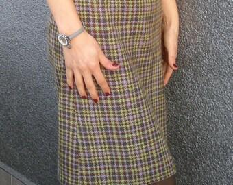 Autumn Dress, Elegant Dress, Knee Length Dress, Business Casual, Business Fashion, High Fashion Dress, Modern Dress