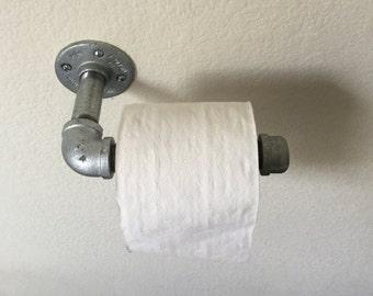 Toilet Paper Holder, Metal Toilet Paper Holder, TP Holder, Industrial Holder, Bathroom Decor