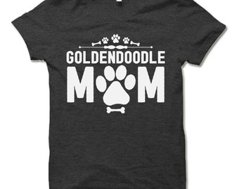 Goldendoodle Mom T-Shirt. Dog Owner Gift. Goldendoodle Mom Shirt.