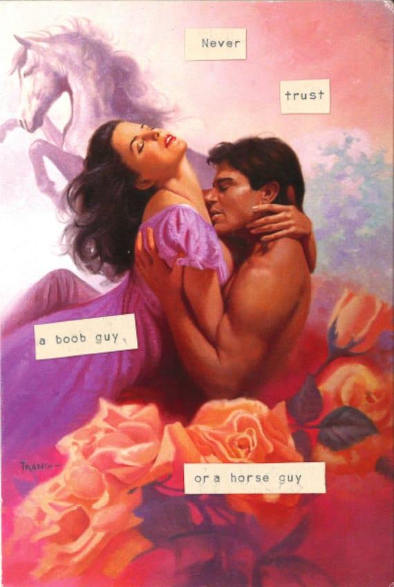 Romance Book Cover Guy : A horse guy romance novel cover refrigerator magnet