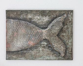 "Acrylic painting ""Fish Hemingway"""