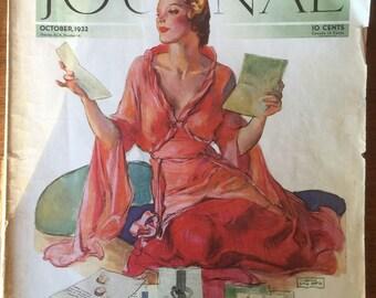 Vintage 1932 Ladies Home Journal